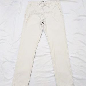 Old Navy Mens Ultimate Slim Fit Pants 30x32 Cream